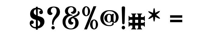 Quiska Font OTHER CHARS