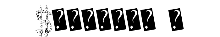 QuiveringNoodle Font OTHER CHARS