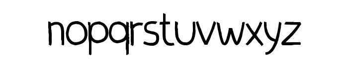 Quixeramobim Normal Font LOWERCASE