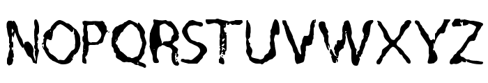 Quo Vadis, Quasimodo Font UPPERCASE