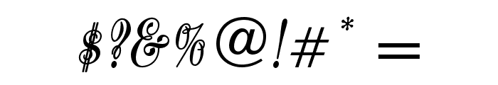 QuoOpti-Bold Font OTHER CHARS