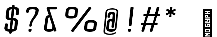 Quota Bold Italic Font OTHER CHARS