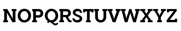 QuotusBold Font UPPERCASE