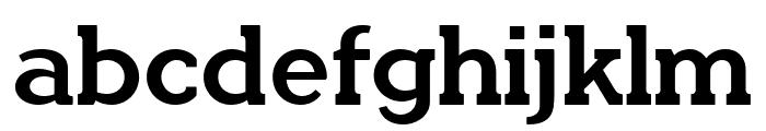QuotusBold Font LOWERCASE