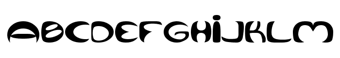Qurve Wide Font LOWERCASE