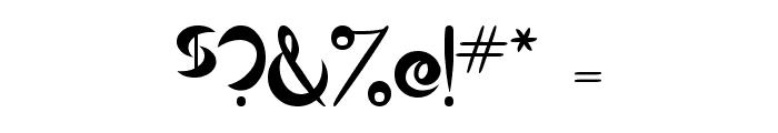 Qurve Font OTHER CHARS