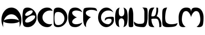 Qurve Font UPPERCASE