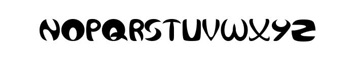 Qurve Font LOWERCASE