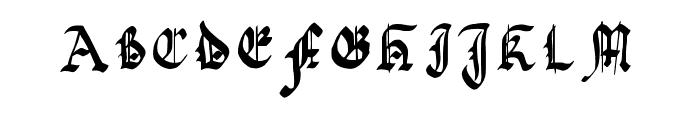 quadrata preciosa Font UPPERCASE