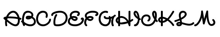 quashie Font UPPERCASE