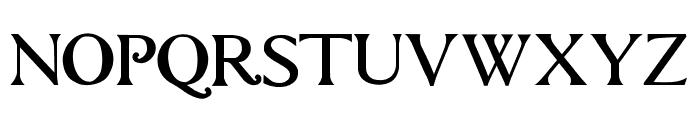 questRegular Font UPPERCASE