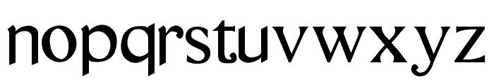 questRegular Font LOWERCASE