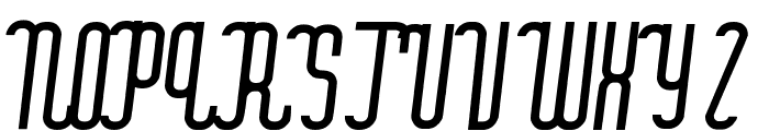 quickland Font UPPERCASE