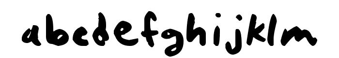 quickrite Font LOWERCASE
