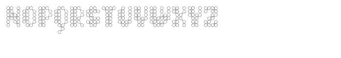 Quad Channel 2 Font UPPERCASE