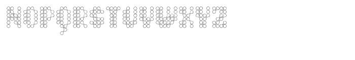 Quad Channel 2 Font LOWERCASE