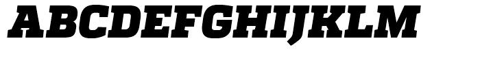 Quadon Black Italic Font UPPERCASE
