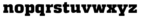 Quadon Black Font LOWERCASE