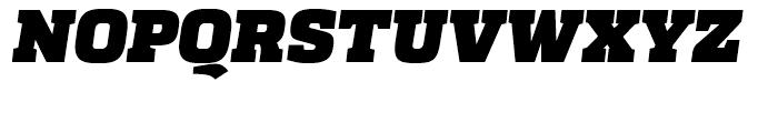 Quadon Heavy Italic Font UPPERCASE