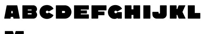 Quadrat Grotesk New Black Font UPPERCASE
