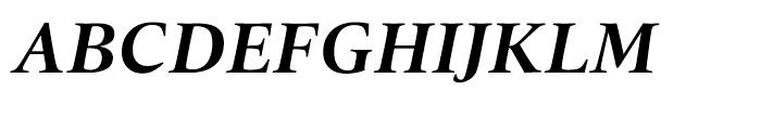 Quant Text Bold Italic Font UPPERCASE