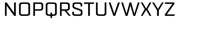 Quarca Extended Regular Font UPPERCASE