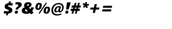 Qubo Black Italic Font OTHER CHARS