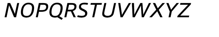 Qubo Italic Font UPPERCASE