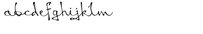 Queen Lite Font LOWERCASE