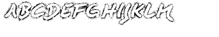 Quendel Fingertip Font UPPERCASE