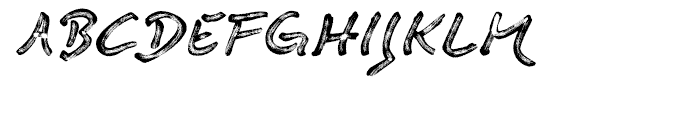 Quendel Marking Pen Font UPPERCASE