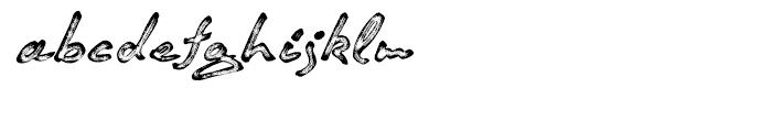 Quendel Marking Pen Font LOWERCASE