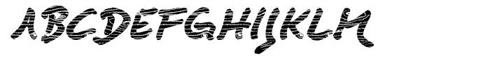 Quendel Wood Font UPPERCASE