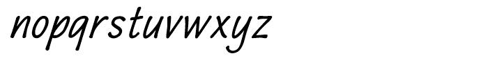Quiffed Bold Oblique Font LOWERCASE