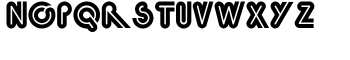 Quinceanera NF Regular Font LOWERCASE