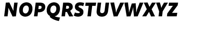 Quire Sans Black Italic Font UPPERCASE
