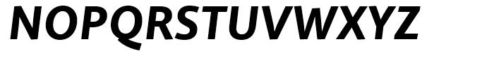 Quire Sans Heavy Italic Font UPPERCASE