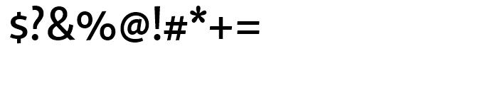 Quire Sans Medium Font OTHER CHARS