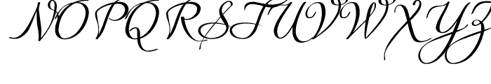 Quirina Normal Font UPPERCASE