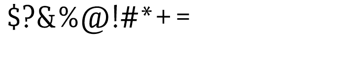 Quiroga Serif Pro Regular Font OTHER CHARS