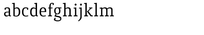 Quiroga Serif Pro Regular Font LOWERCASE
