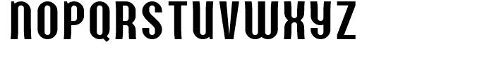 Quit Smoking Regular Font LOWERCASE