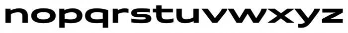 Quantum Bold Font LOWERCASE