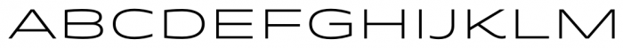 Quantum Light Font UPPERCASE