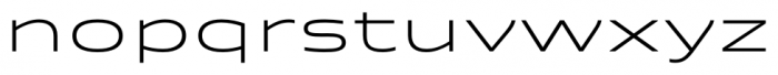 Quantum Light Font LOWERCASE