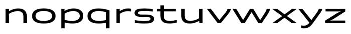 Quantum Medium Font LOWERCASE