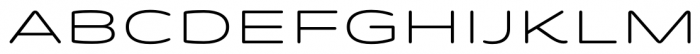 Quantum Rounded Light Font UPPERCASE
