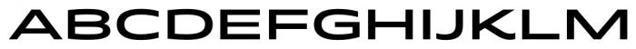 Quantum Semi Bold Font UPPERCASE