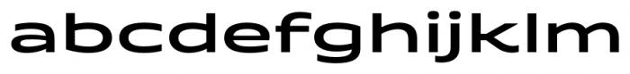 Quantum Semi Bold Font LOWERCASE