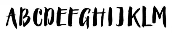 Queen Regular Font UPPERCASE